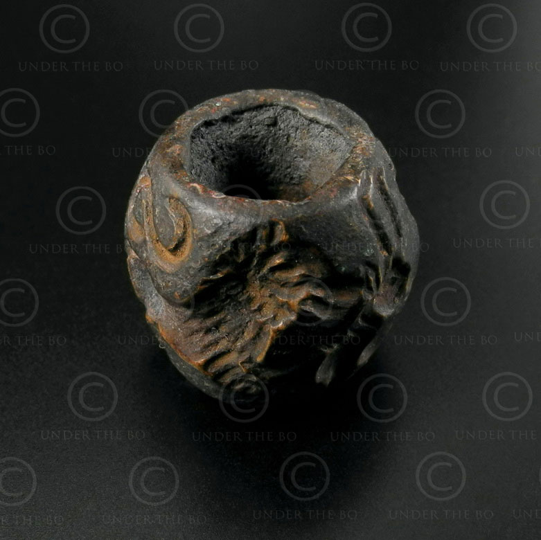 Bactrian bronze seal 13SH3B. North Afghanistan, ancient kingdom of Bactria.