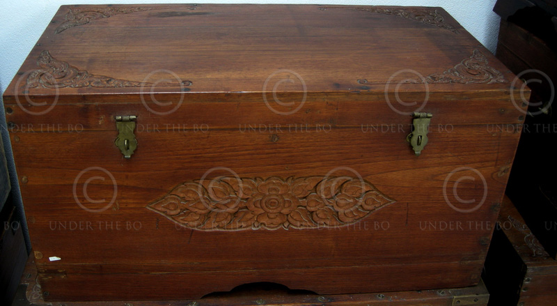 Burmese chest BU22. Mandalay, Northern Burma.