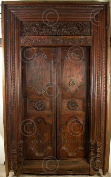 Indian Door 09gv2 Chettinad South India 19th Century