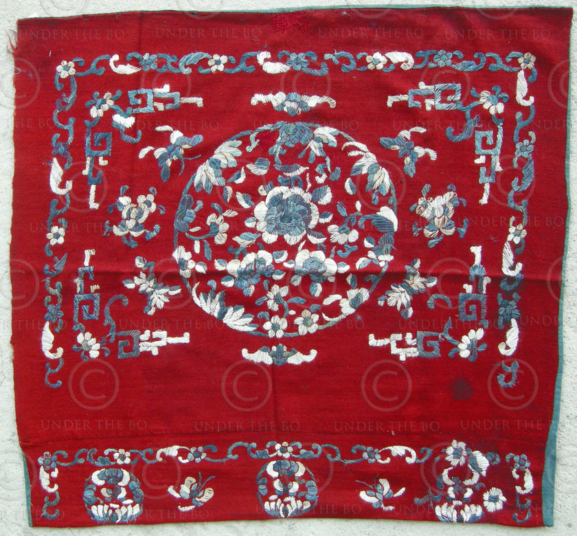 Chinese embroidery c southern china