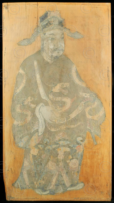 Chinese painting C81a. Qing dynasty, Sichuan, China.