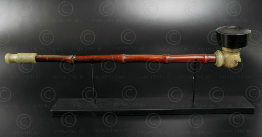 Chinese opium pipe C95. China.