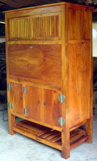 Secretaire sino-japonais FV4. Atelier Under the Bo.