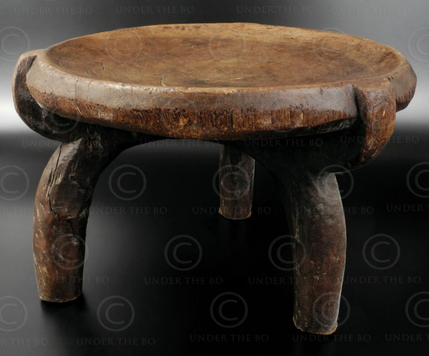 Hehe stool 12OL17H. Hehe culture, Tanzania, South East Africa.