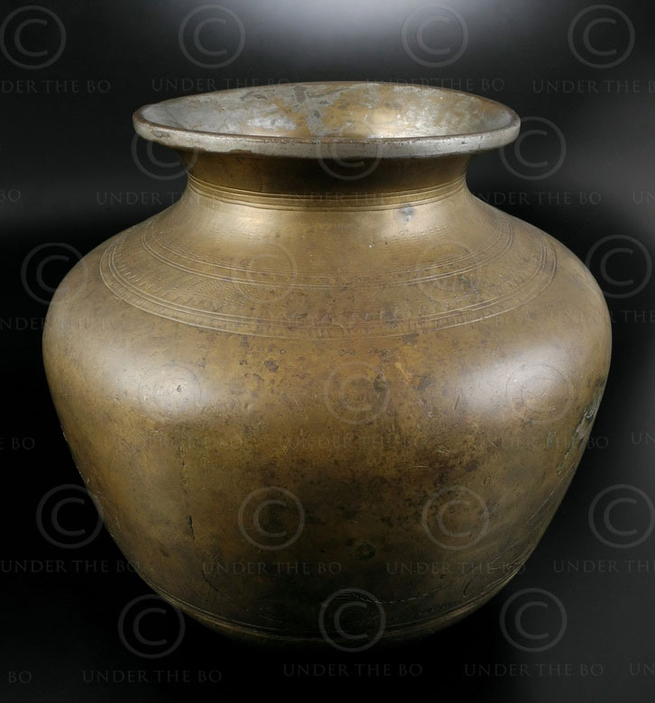 Indian bronze lota P26A4. North India.