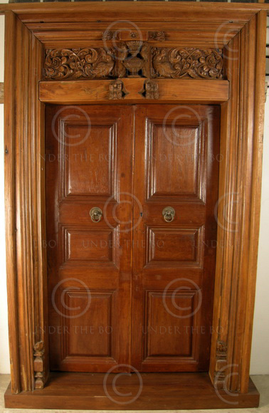 Indian door 08mt1 southern india for Traditional main door design