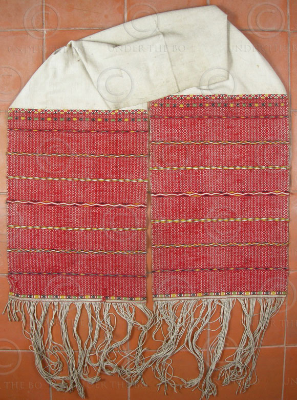 Karen turban BU23A. Paku Karen group, Eastern Burma.