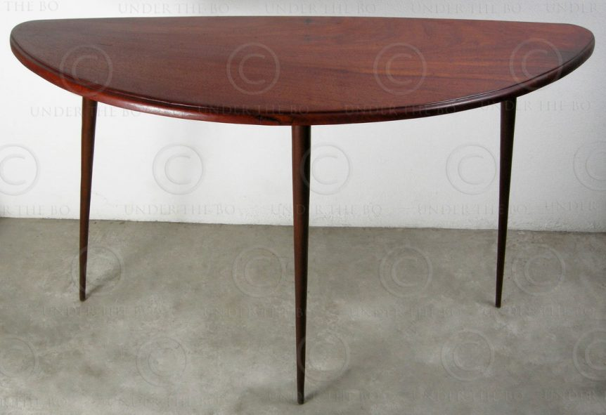 Petite table Art deco FV123. Design François Villaret, Atelier Under the Bo, Tha