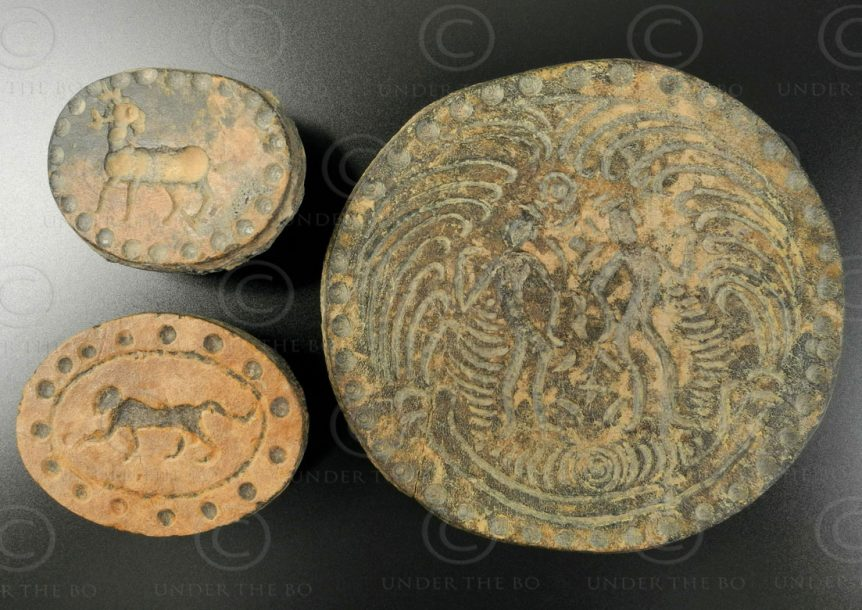 Pyu bone seals BU468F. Burma.