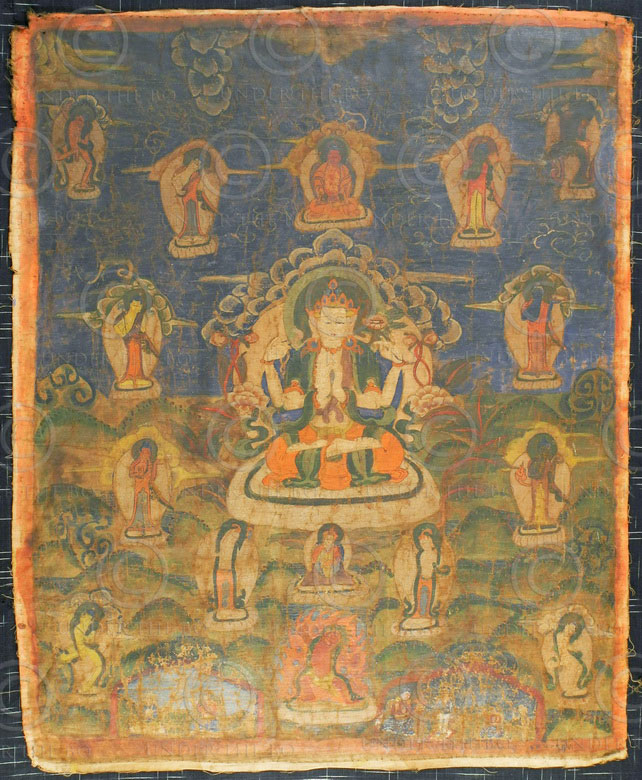 Thangka Newar NT5, Newar culture.Népal.