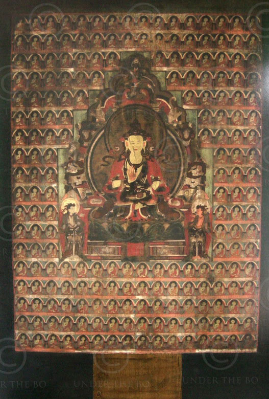 Tibetan thangka TIB130. Tibet, oil on canvas