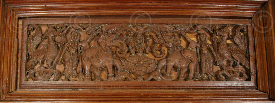 Chettinad Door 08mt9 Teak Wood Chettinad Southern India