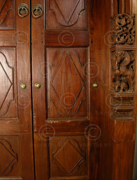 Front Elevation Antiques : Chettinad door mt teak wood southern india