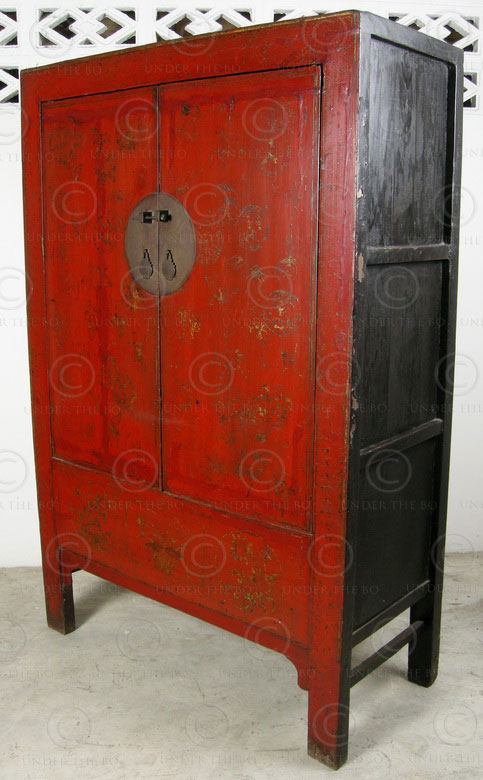 armoire chinoise bj40b province du shanxi chine. Black Bedroom Furniture Sets. Home Design Ideas
