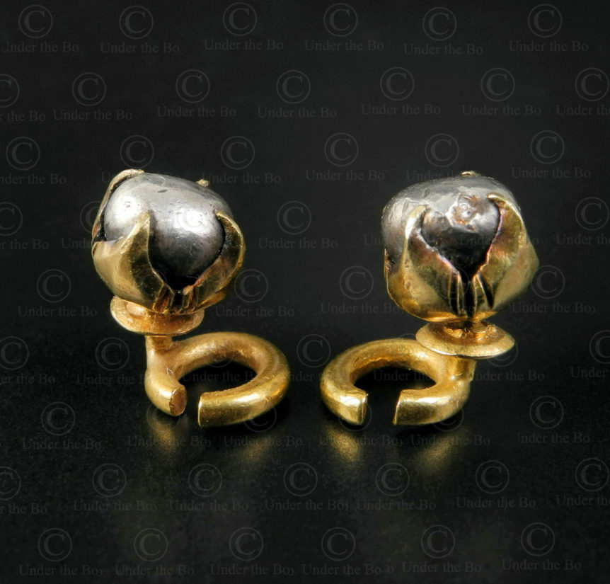 Majopahit bird rings E158. Majopahit empire, East Java, Indonesia.