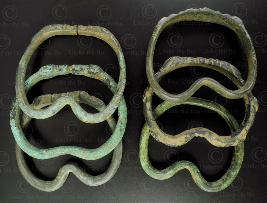 Kushan bronze rings PK211. Found in the Gilgit region of Northern Pakistan.