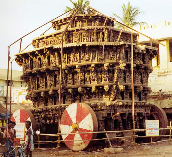 Rathas (or temple chariots)