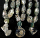 Roman glass beads BD79, 3 strands, Afghanistan